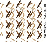 abstract seamless pattern in... | Shutterstock .eps vector #668248318