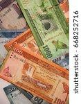 sri lankan banknotes of... | Shutterstock . vector #668252716