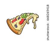 vector cartoon illustration of...   Shutterstock .eps vector #668265418