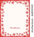 christmas card | Shutterstock . vector #66834343