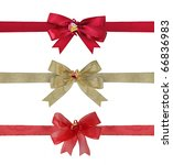 collection of various ribbons... | Shutterstock . vector #66836983