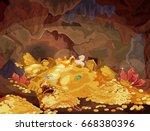 illustration of a magic...   Shutterstock .eps vector #668380396