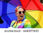 new york city  usa june 25 ... | Shutterstock . vector #668397835