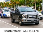 Small photo of ACAPULCO, MEXICO - MAY 30, 2017: Pickup truck Ford Lobo in the city street.