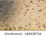 wall   sandstone surface... | Shutterstock . vector #668438746