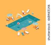 creative vector concept... | Shutterstock .eps vector #668465146