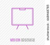 training line vector icon   Shutterstock .eps vector #668468785