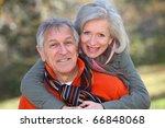 senior couple having fun in...   Shutterstock . vector #66848068