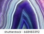 amazing violet agate crystal... | Shutterstock . vector #668483392