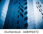 detail shot of modern... | Shutterstock . vector #668496472