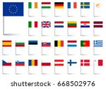 flags collection of all... | Shutterstock .eps vector #668502976