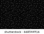 black and white dotted... | Shutterstock . vector #668544916