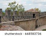 republic of san marino. walk... | Shutterstock . vector #668583736