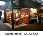 milan   april 15  people visit... | Shutterstock . vector #66859582