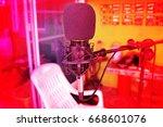 music  mic condenser for studio ... | Shutterstock . vector #668601076