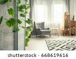 creative view of elegant... | Shutterstock . vector #668619616