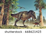 3d Render Dinosaur. This Is A...