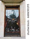 prague  czech   october 25 ...   Shutterstock . vector #668650195