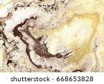 handmade marble texture. beige... | Shutterstock . vector #668653828