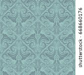 floral seamless pattern....   Shutterstock .eps vector #668660176