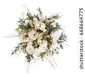 very beautiful bouquet | Shutterstock . vector #668664775