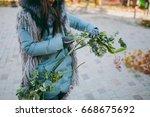 decorators process  | Shutterstock . vector #668675692