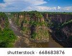 africa landscape | Shutterstock . vector #668683876