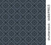 vintage pattern graphic design | Shutterstock .eps vector #668699815
