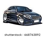vector cartoon car. available...   Shutterstock .eps vector #668763892