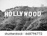 hollywood california   december ... | Shutterstock . vector #668796772