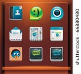 communication and social... | Shutterstock .eps vector #66880480