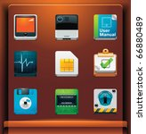 system tools. mobile devices... | Shutterstock .eps vector #66880489