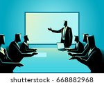 Business Illustration Of...