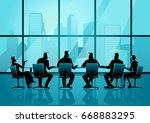 business illustration of... | Shutterstock .eps vector #668883295