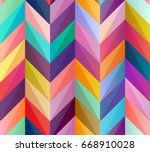 seamless geometric pattern of... | Shutterstock .eps vector #668910028