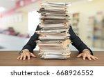 paperwork. | Shutterstock . vector #668926552
