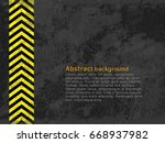 abstract background  cement and ... | Shutterstock .eps vector #668937982