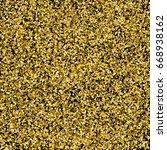 gold glitter texture isolated...   Shutterstock .eps vector #668938162