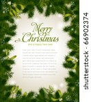detailed realistic christmas... | Shutterstock .eps vector #66902374