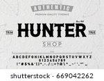 font.alphabet.script.typeface... | Shutterstock .eps vector #669042262