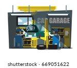 auto mechanic car mechanic...   Shutterstock .eps vector #669051622
