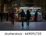 milan  italy   circa november  ... | Shutterstock . vector #669091735