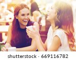 communication and friendship...   Shutterstock . vector #669116782