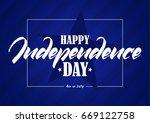 vector illustration  greeting... | Shutterstock .eps vector #669122758