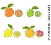 hand drawn vector illustration... | Shutterstock .eps vector #669161656