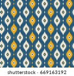 seamless vintage pattern | Shutterstock .eps vector #669163192