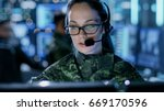 close up shot of female army... | Shutterstock . vector #669170596