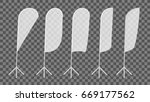 transparent blank expo banner... | Shutterstock .eps vector #669177562