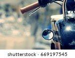 Harley Davidson Motorbike Close ...