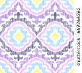 colorful seamless pattern....   Shutterstock .eps vector #669266362
